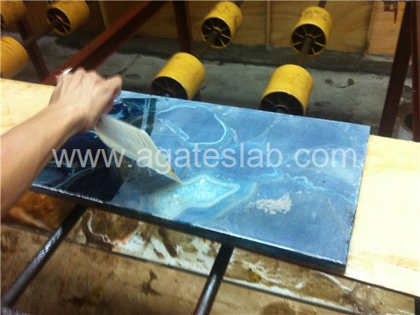 Agate slab process (4)