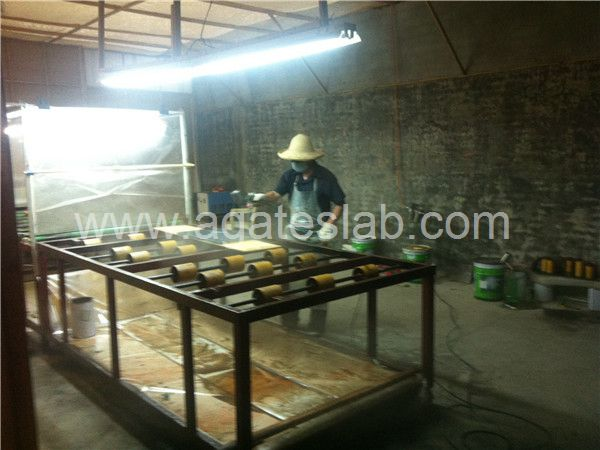 Agate slab process (5)