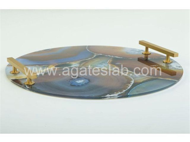 Agate stone tray (4)