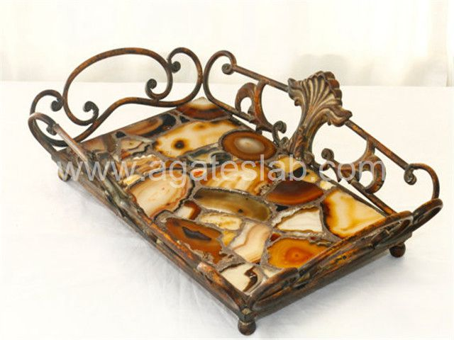 Agate stone tray (5)
