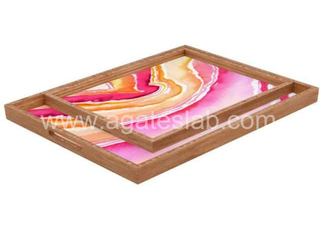 Agate stone tray (7)