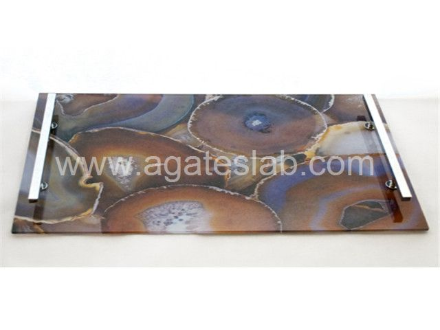 Agate stone tray (8)