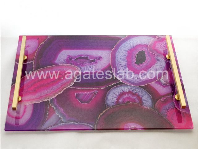 Agate stone tray (9)